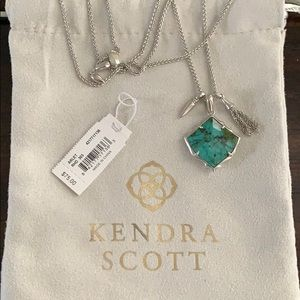 Kendra Scott Arlet Necklace in African Turquoise